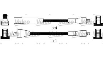 Sada kabelů pro zapalování VALEO 346564