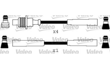 Sada kabelů pro zapalování VALEO 346561