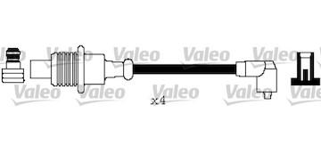 Sada kabelů pro zapalování VALEO 346548