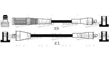 Sada kabelů pro zapalování VALEO 346515