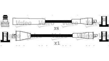Sada kabelů pro zapalování VALEO 346514