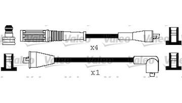Sada kabelů pro zapalování VALEO 346512