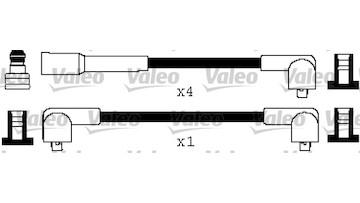 Sada kabelů pro zapalování VALEO 346466