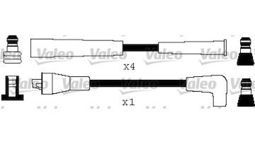Sada kabelů pro zapalování VALEO 346414