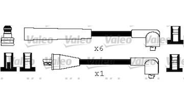 Sada kabelů pro zapalování VALEO 346413
