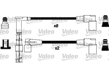 Sada kabelů pro zapalování VALEO 346379