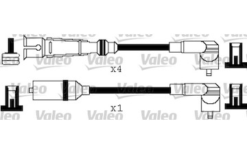 Sada kabelů pro zapalování VALEO 346362