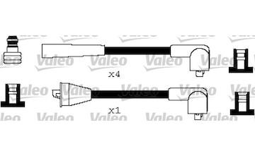 Sada kabelů pro zapalování VALEO 346347
