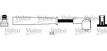 Sada kabelů pro zapalování VALEO 346324