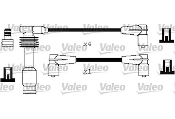 Sada kabelů pro zapalování VALEO 346300