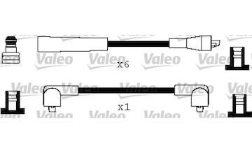 Sada kabelů pro zapalování VALEO 346277
