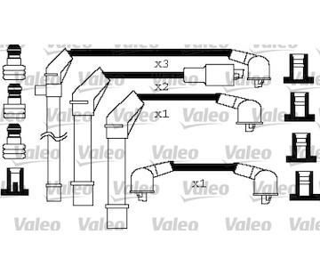 Sada kabelů pro zapalování VALEO 346256
