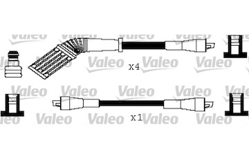Sada kabelů pro zapalování VALEO 346243