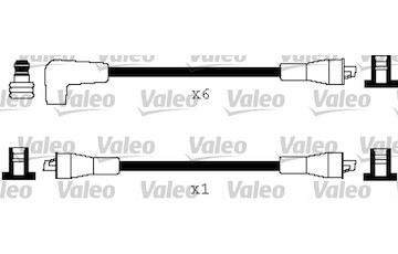 Sada kabelů pro zapalování VALEO 346188