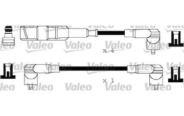 Sada kabelů pro zapalování VALEO 346118