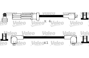 Sada kabelů pro zapalování VALEO 346108