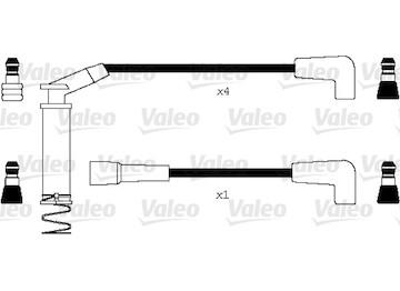 Sada kabelů pro zapalování VALEO 346096
