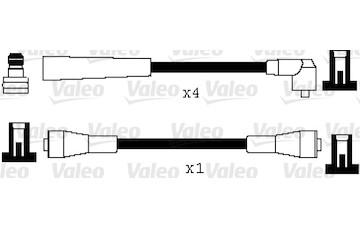 Sada kabelů pro zapalování VALEO 346059