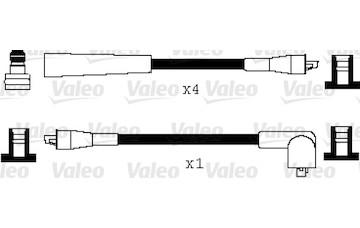 Sada kabelů pro zapalování VALEO 346057