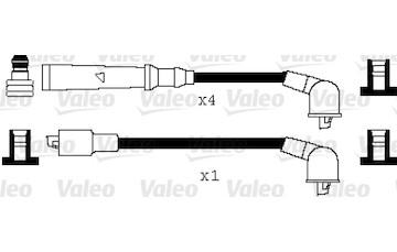 Sada kabelů pro zapalování VALEO 346026