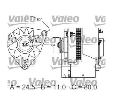 generátor VALEO 437380