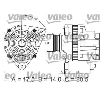 generátor VALEO 437427