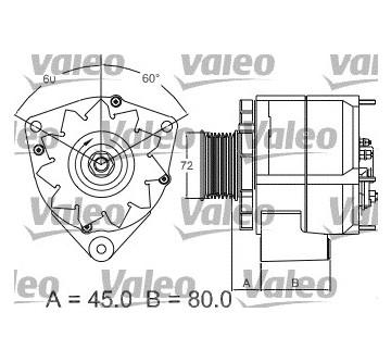 generátor VALEO 437442