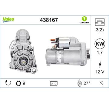 Startér VALEO 438167