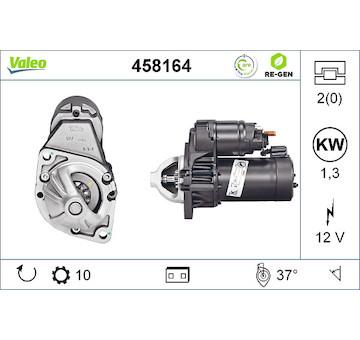 Startér VALEO 458164
