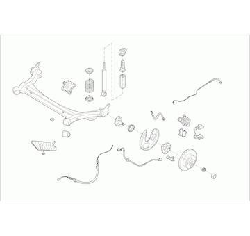 Zavěżení kola LEMFÖRDER SKODA-OCTAV-RL002