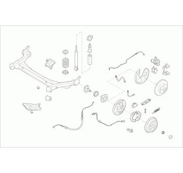 Zavěżení kola LEMFÖRDER SKODA-OCTAV-RL011