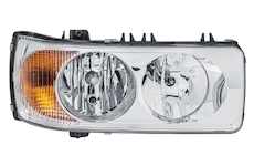světlomet hlavní P se směrovkou HELLA DAF 105XF, XF95 03-, CF, LF, SOR - originální díl