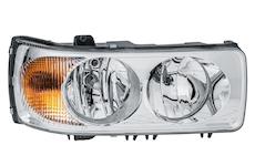 světlomet hlavní L se směrovkou HELLA SOR,DAF 105XF, XF95 03-, CF, LF,
