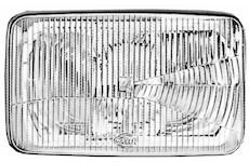 Rozptylové sklo reflektoru, hlavní světlomet HELLA 9ES 120 743-001
