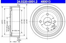 Brzdový buben ATE 24.0220-0001.2