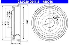 Brzdový buben ATE 24.0220-0011.2