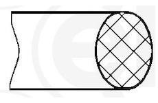 Tesnici krouzek, vlozka valce ELRING 131.020