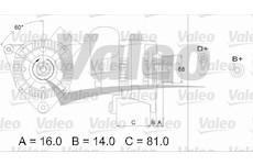 generátor VALEO 436388