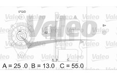 generátor VALEO 436503