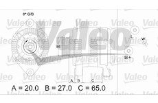 generátor VALEO 436713