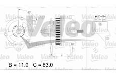 generátor VALEO 436755