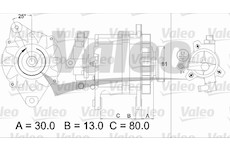 generátor VALEO 437135