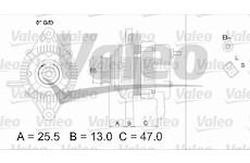 generátor VALEO 437333
