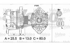 generátor VALEO 437501