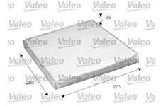 Filtr, vzduch v interiéru VALEO 698885