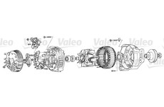 generátor VALEO A13VI254