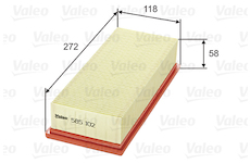 Vzduchový filtr VALEO 585102