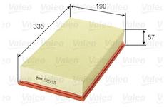 Vzduchový filtr VALEO 585121