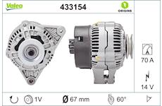 generátor VALEO 433154