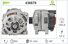 generátor VALEO 436679